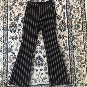 Flare palazzo striped pants from forever 21